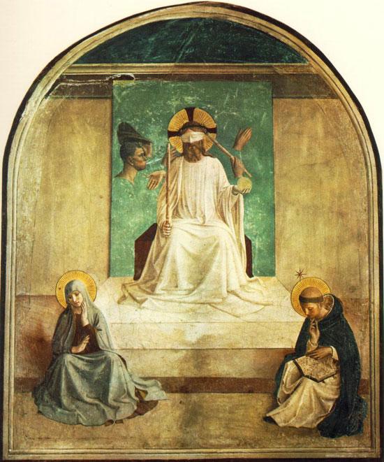 Beato+Angelico+Cristo+Deriso+Atto+Creativo+Arte+pittura