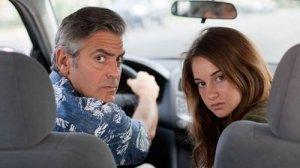 George Clooney e Shailene Woodley