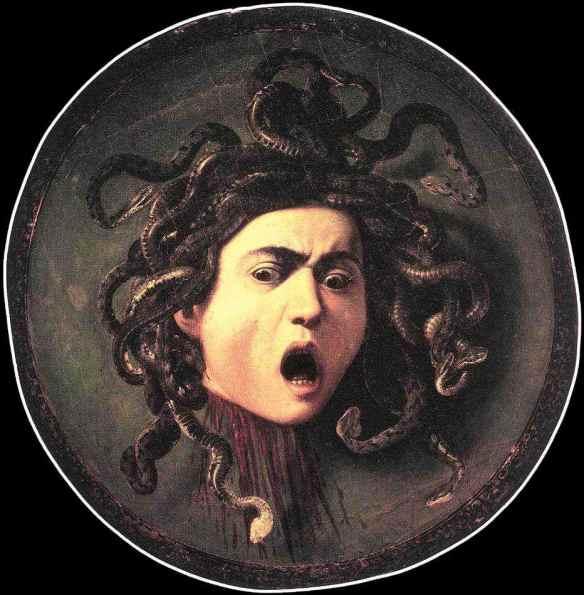 Pittura+Medusa+Caravaggio