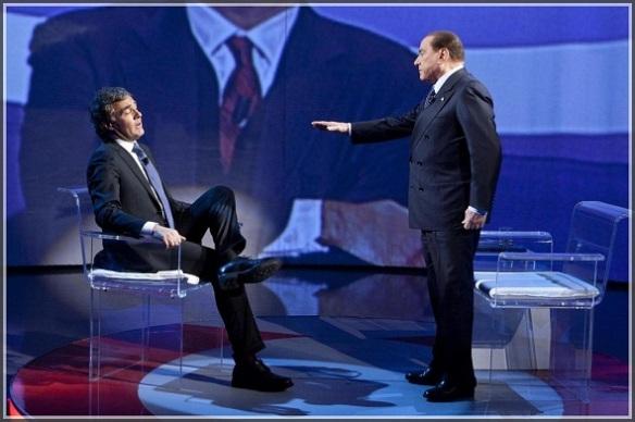 """Silvio Berlusconi ospite a """"L'arena"""" di Massimo Giletti"""