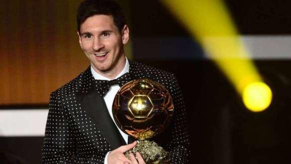 Lione Messi Pallone d'Oro