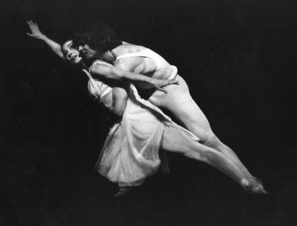 Rudolf Nureyev e la ballerina inglese Margot Fonteyn, Covent Garden, Londra, 24 marzo 1964 (Jim Gray/Getty Images)